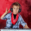 Stock Photo: Cool dj boy