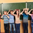 Children in classroom — Stock Photo