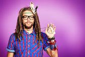 Hippy generation — Stock Photo