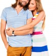 Cheerful couple — Stock Photo