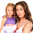 Daughter with mother — Stock Photo