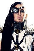 Warrior of the future — Stock Photo