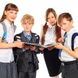 Stock Photo: Curious students