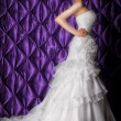 Luxurious bride — Stock Photo