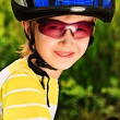 Stock Photo: Boy in helmet