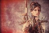 Fantasy heroine — Stock Photo