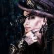 Stock Photo: Gothic steampunk