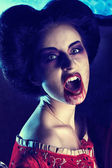 Vampire fangs — Stock Photo