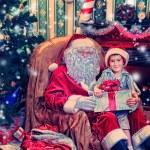 Real santa — Stock Photo #32154721