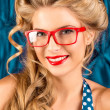 Red glasses — Stock Photo #32482141