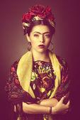 Latina dame — Stockfoto