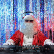 Party santa — Stock Photo