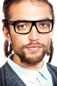 Man in spectacles — Stock Photo