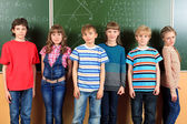 Funny classroom — Stockfoto