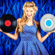 Stock Photo: Vinyl record