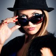 Black hat — Foto de Stock