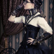 female steampunk — Stock Photo