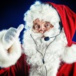 Modern Santa Claus — Stock Photo