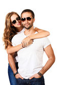 Casual couple — Stock Photo