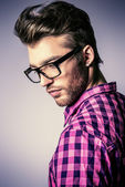 In spectacles — Stock Photo