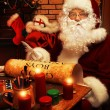Home of santa — Stockfoto