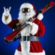 Cool santa — Stock Photo