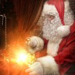Stock Photo: Treasure of santa