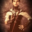 fille de Steampunk — Photo