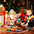 Kid with toys — Stock Photo #36123725