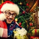 Comic santa — Stock Photo #36212347