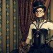 Smart steampunk — Stock Photo #36729997