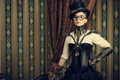 Smart steampunk — Stock Photo