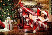 Christmas fun — 图库照片