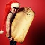 Brutal santa — Stock Photo #37394447