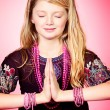 Stock Photo: Girl meditating