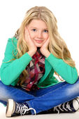 Cute teen — Stock Photo