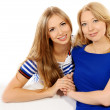 Stock Photo: Daughter and mother
