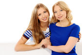 daughter and mother — Stock Photo