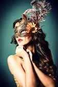 Mask fashion — Stock Photo