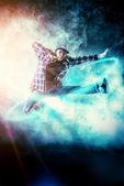 High leap — Stock Photo