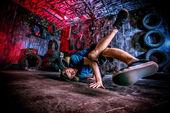 Dancer man — Stock Photo