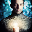 Hold candle — Photo #38500885