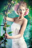 Fairy garden — Stock Photo