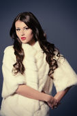 White fur — Stock Photo
