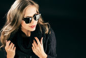 Black sunglasses — Stock Photo