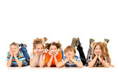 Funny children — Stock Photo