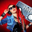 Djgirl — Stock Photo