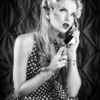 Photo: Speak phone