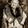 Stock Photo: Old madame