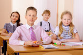 During lesson — Stock Photo